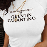 Quentin Tarantino Crop Top