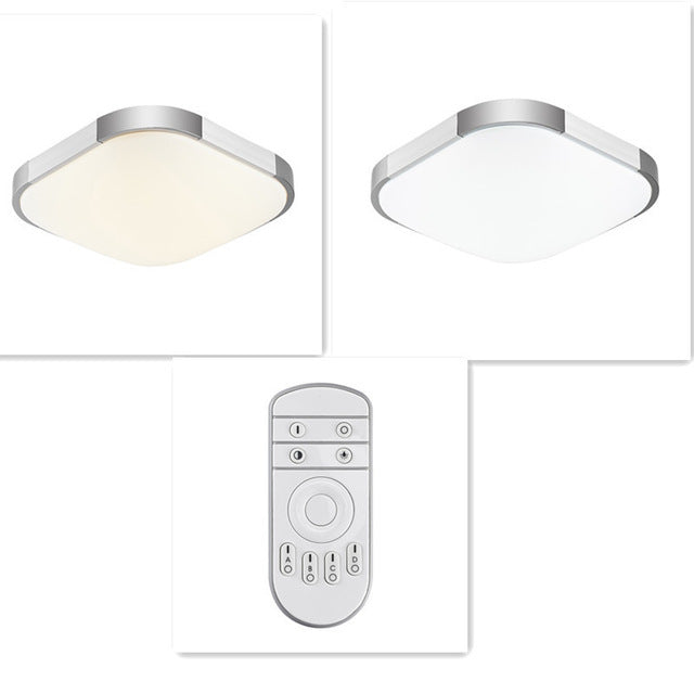 Remote-Control-Cold-Warm-White-Faceplate-Ceiling-L&-  sc 1 st  eBay & Remote Control Cold Warm White Faceplate Ceiling Lamp Home Office ...