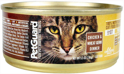 Petguard Chicken and Wheat Germ Dinner Canned Cat Food
