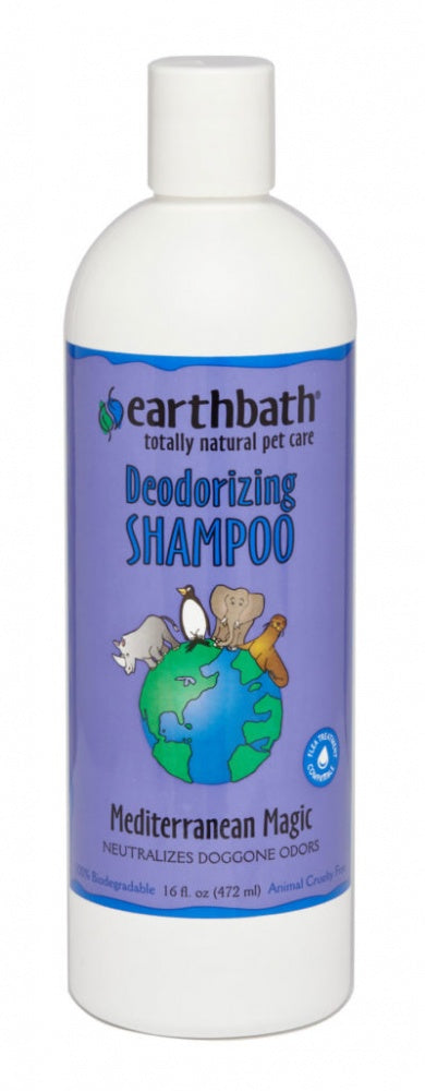 Earthbath Deodorizing Mediterranean Magic Shampoo for Dogs and Cats