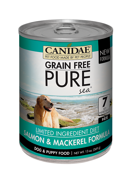 Canidae Grain Free PURE Sea Salmon and Mackerel Canned Dog Food
