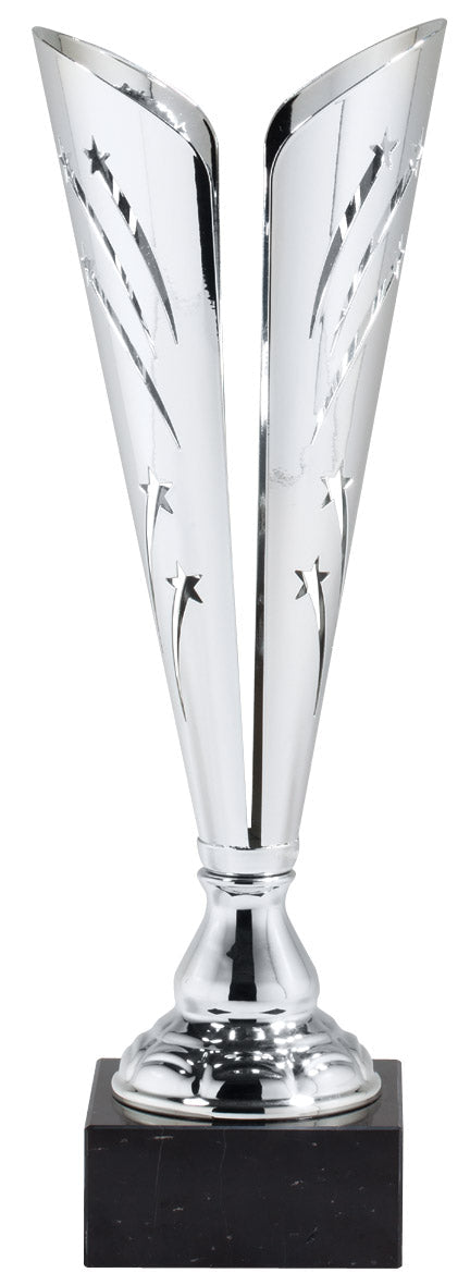 Shooting Silver Star Trophy Cup (3 Sizes)