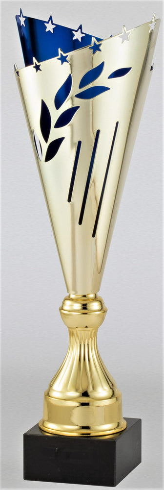 Gold / Blue Trophy Cup (3 Sizes)