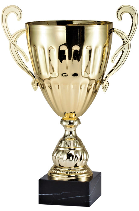 Gold Ripple Trophy Cup (4 Sizes)