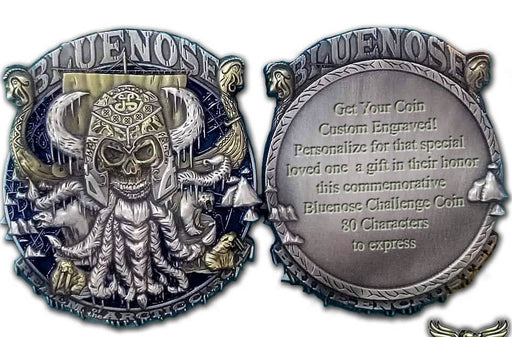 Blue Nose Challenge Coin