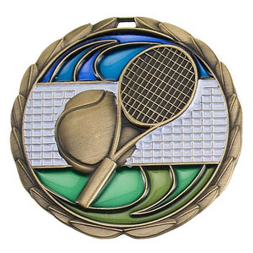Color Epoxy Medallion Medal Tennis