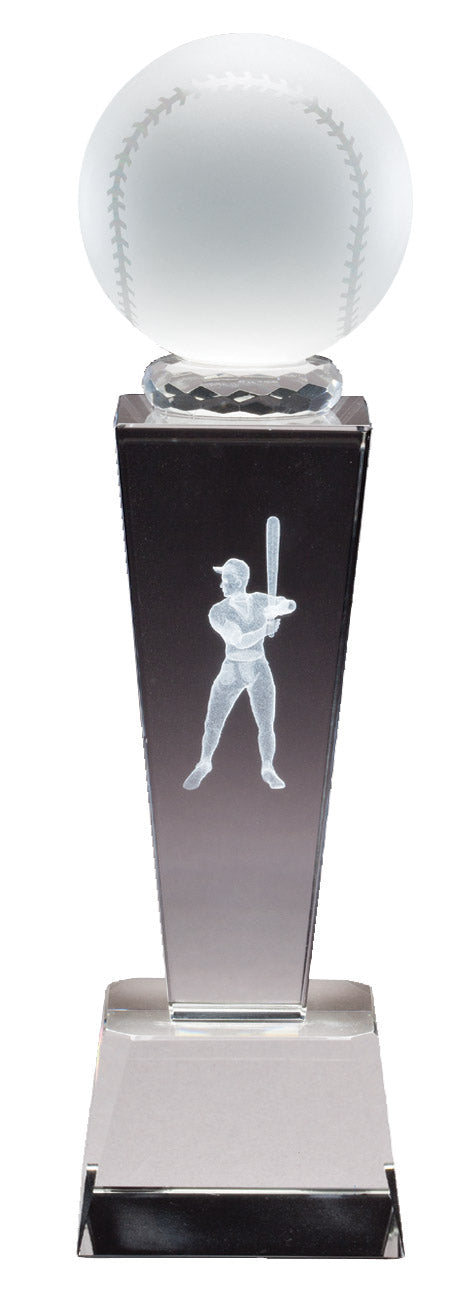 Baseball Crystal SPORT TOWER, 3D image