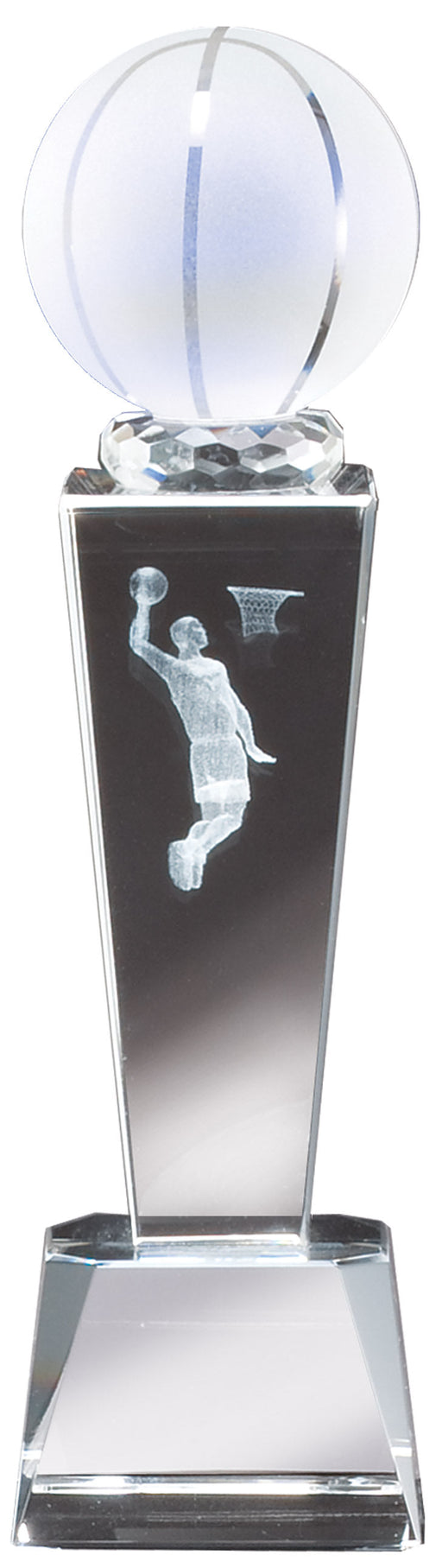 Basketball Crystal SPORT TOWER, 3D image
