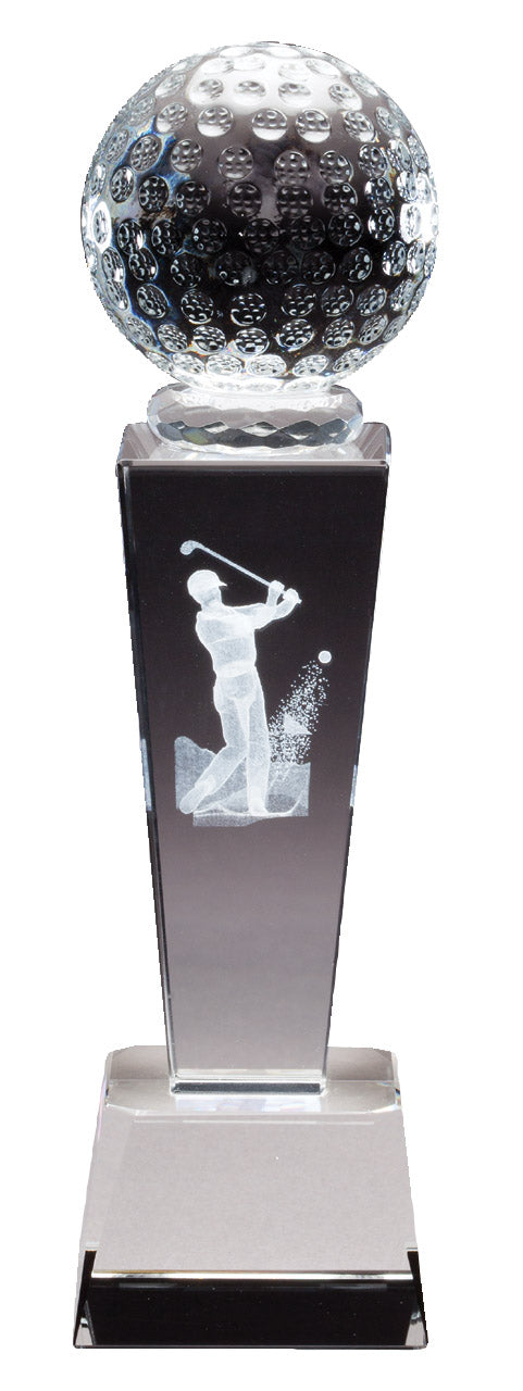 Golf Crystal SPORT TOWER, 3D image