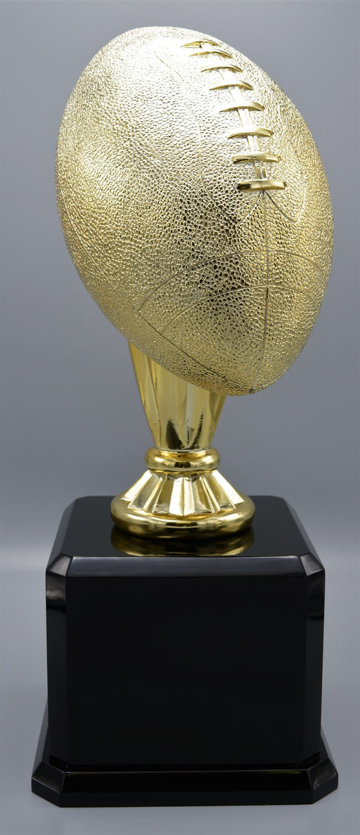 Gold Resin Football on Base - Great For Fantasy