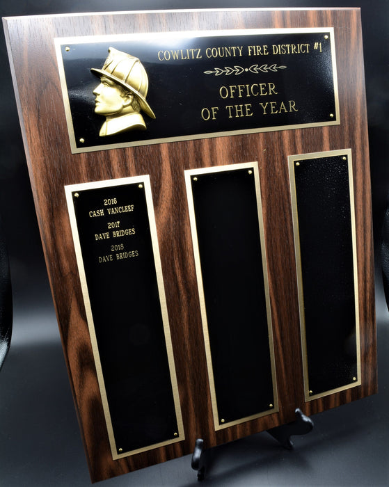 Firefighter Perpetual Plaque