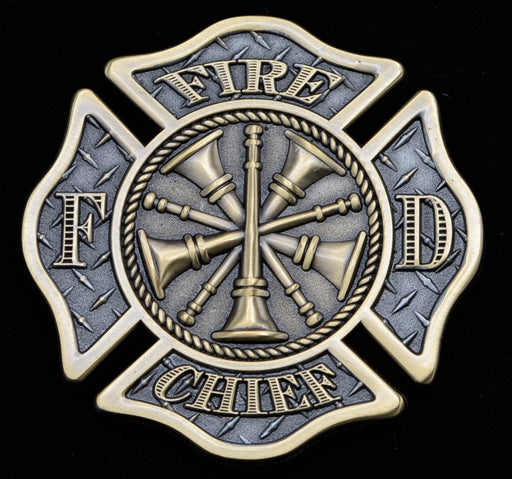 Firefighter Challenge Coin - Chief