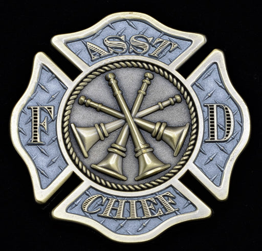 Firefighter Challenge Coin - Assistant Chief