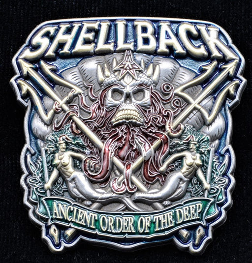 Shellback Challenge Coin