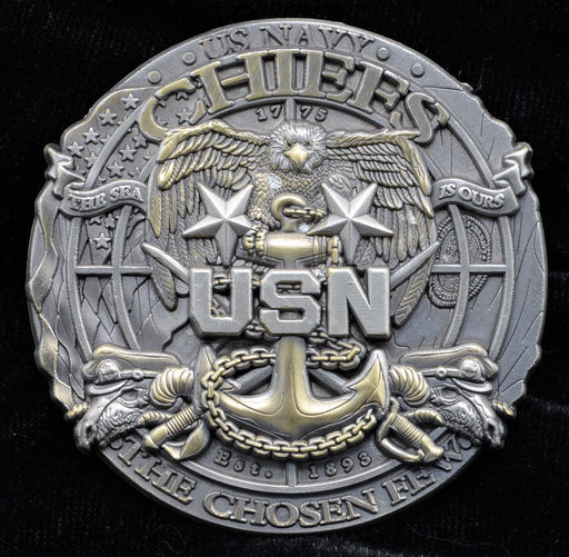 Navy Master Chief Challenge Coin