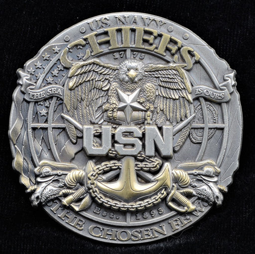 Navy Senior Chief Challenge Coin