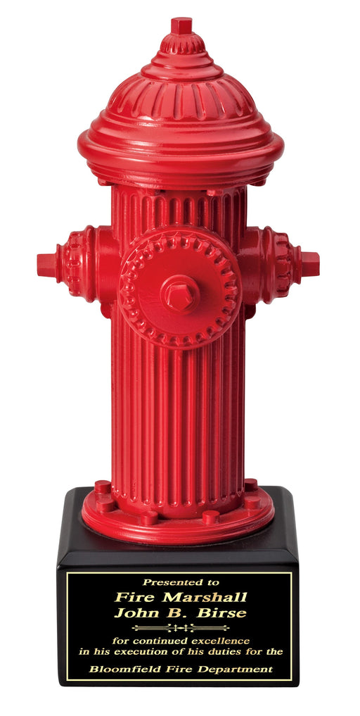 Fire Hydrant Fireman Red