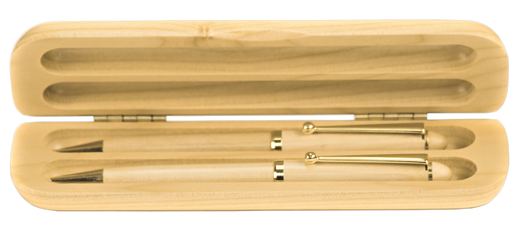 Maple Pen & Pencil Set