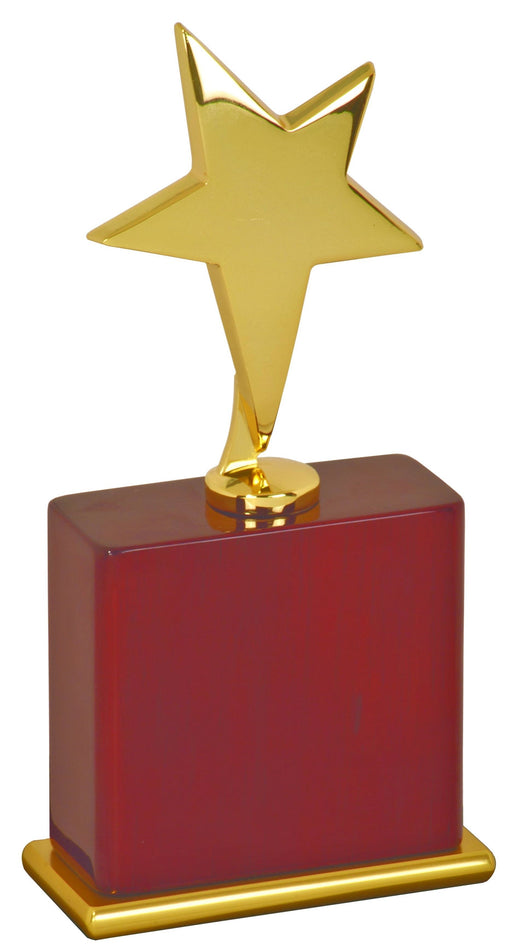 Gold Star Award on Rosewood