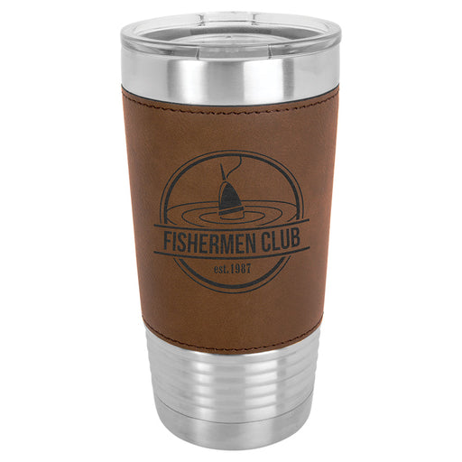 20 oz. Leatherette Polar Camel Tumbler Mug (8 Colors)