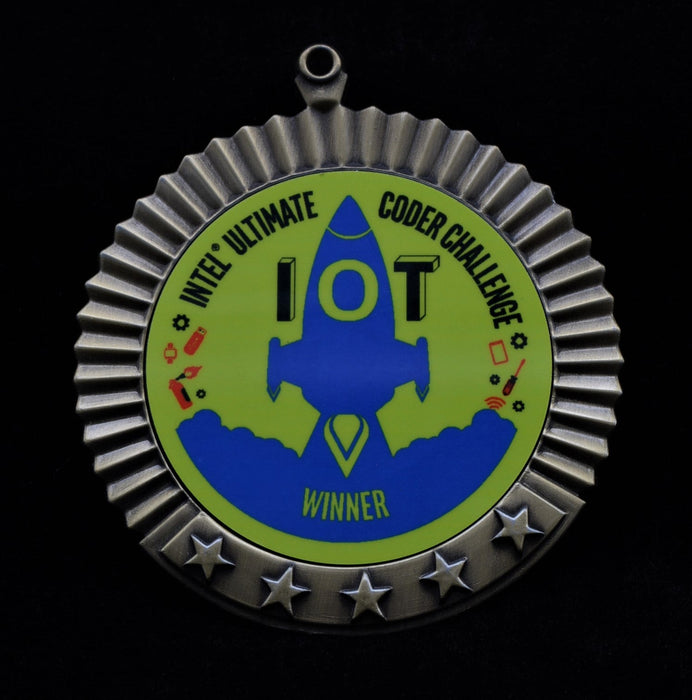 Star Medal Disc Holder
