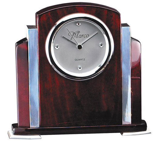 Clock with Aluminum