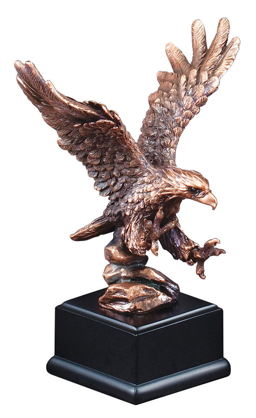 Eagle Resin Bronze Black Base