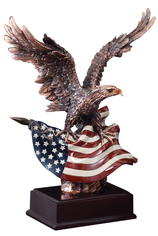 Eagle with Flag (3 Sizes)