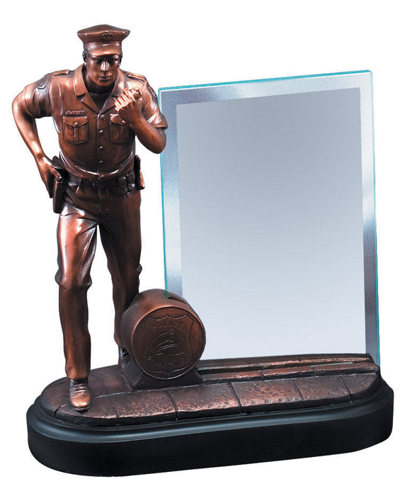 Police Resin Hero Award