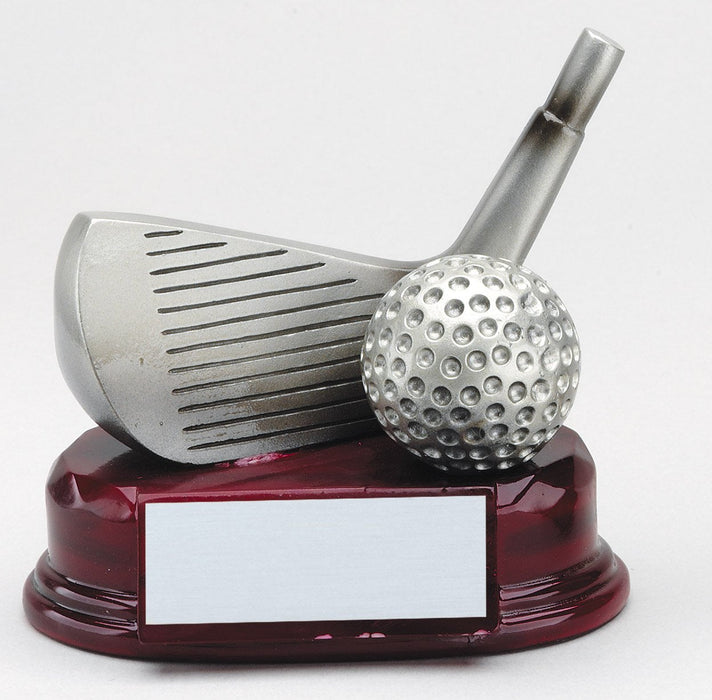 Golf Wedge and Ball