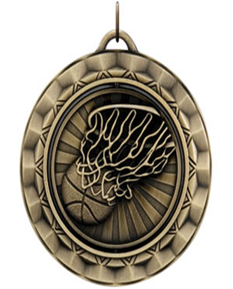 Spinner Medal Basketball