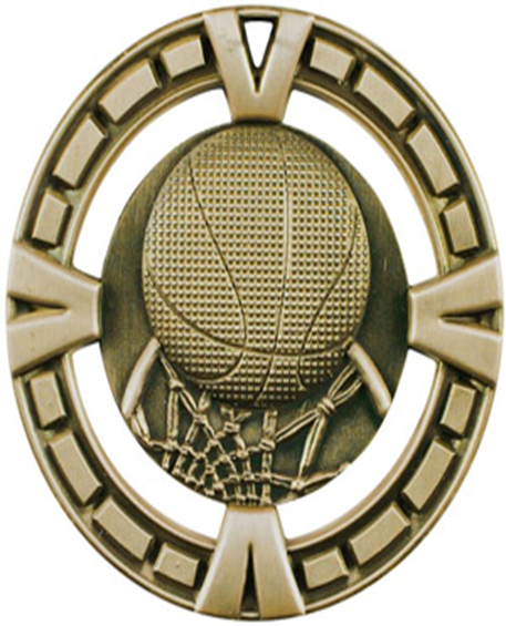 BG Medal Basketball