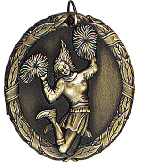 XR Medal Cheerleader