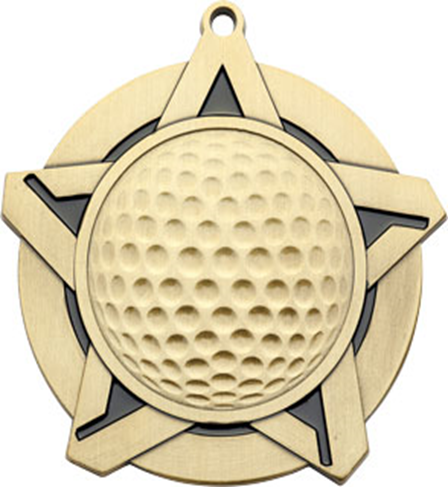 Super Star Medal Golf