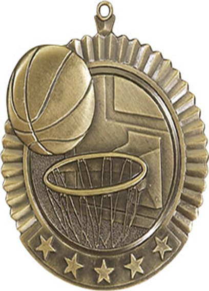 Star Medal Basketball