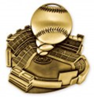 Stadium Award Medal Baseball