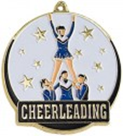 High Tech Medal Cheerleader