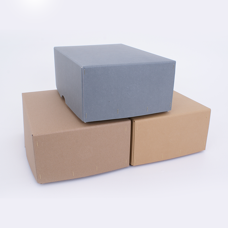 Wire Stitched Archival Storage Box 385mm x 270mm x 153mm (WS163)