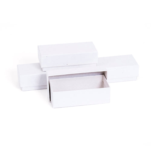 Box and Lid Trinket box in white