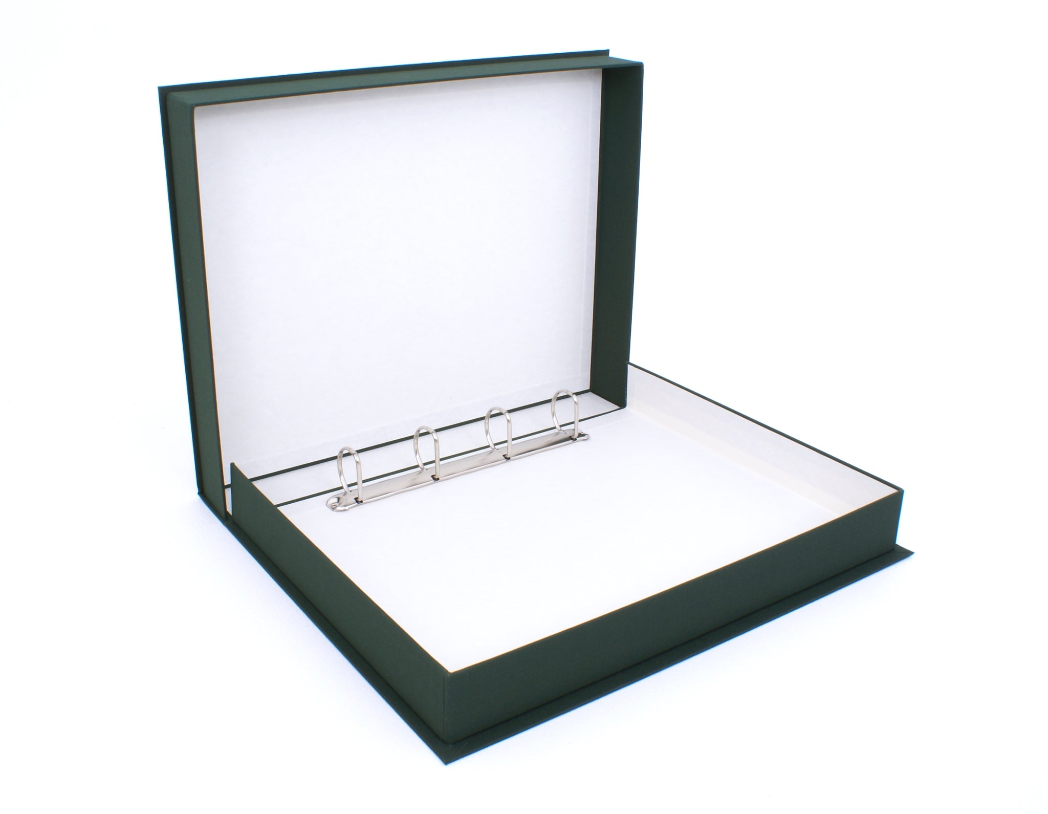 Flanged D-Ring Binding Box