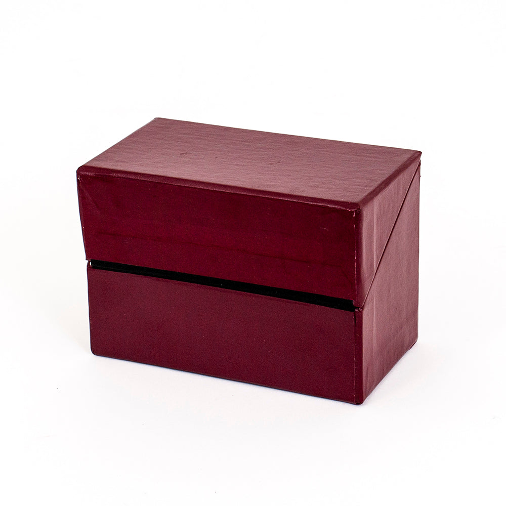 Index Box in Maroon