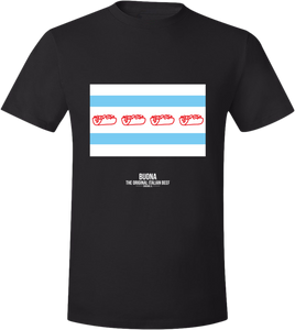 Chicago Buona Flag t-shirt