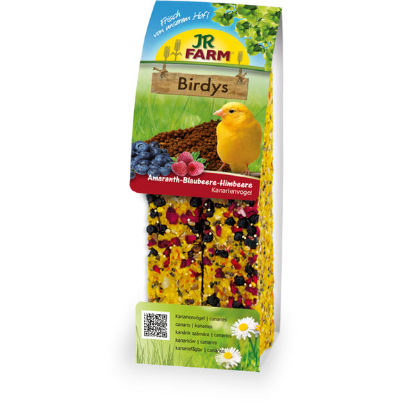 JR Farm Birdys Blueberries - Rapberries 130gr