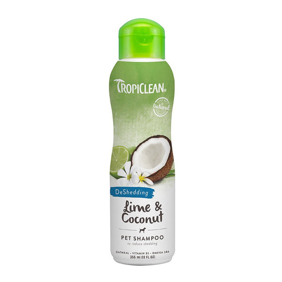 Tropiclean Lime & Coconut Pet Shampoo 355ml