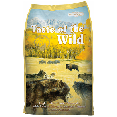 Taste of the Wild High Praire Dog (2kg a 13kg)