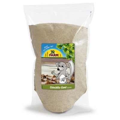 Areia Especial Chinchilas Jr Farm ( 1kg, 4kg e 15kg )