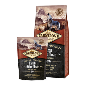 Carnilove Lamb & Wild Boar Adult Dog