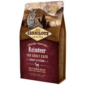Carnilove Reindeer Energy and Outdoor Adult Cat