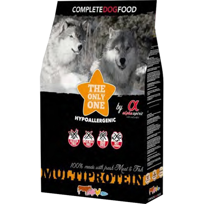 Alpha Spirit Dog Dry Multiprotein