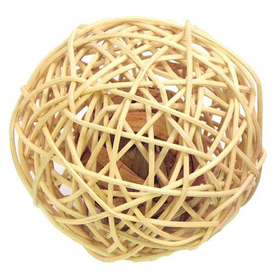 Rosewood Rattan Wobble Ball (Large)